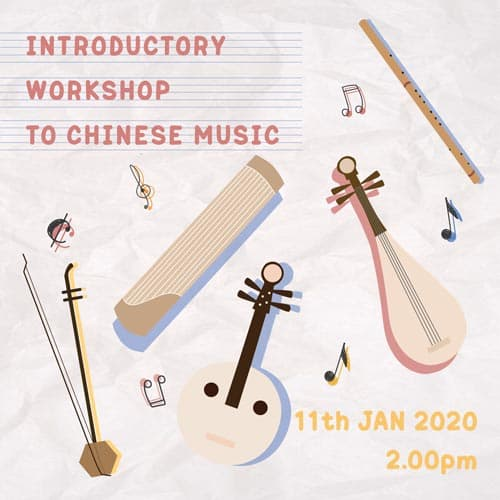 Introductory to chinese orchestra instruments workshop