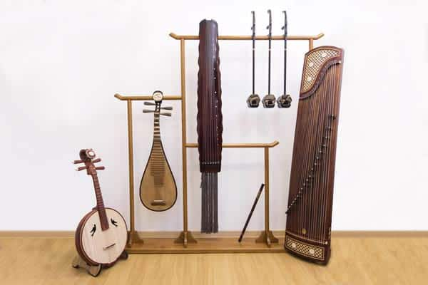 Chinese Instruments Display