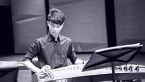 Teacher Yun Lun Playing Guzheng